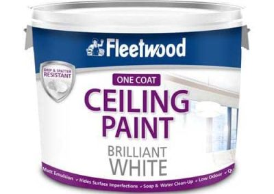 One-Coat Ceiling Paint